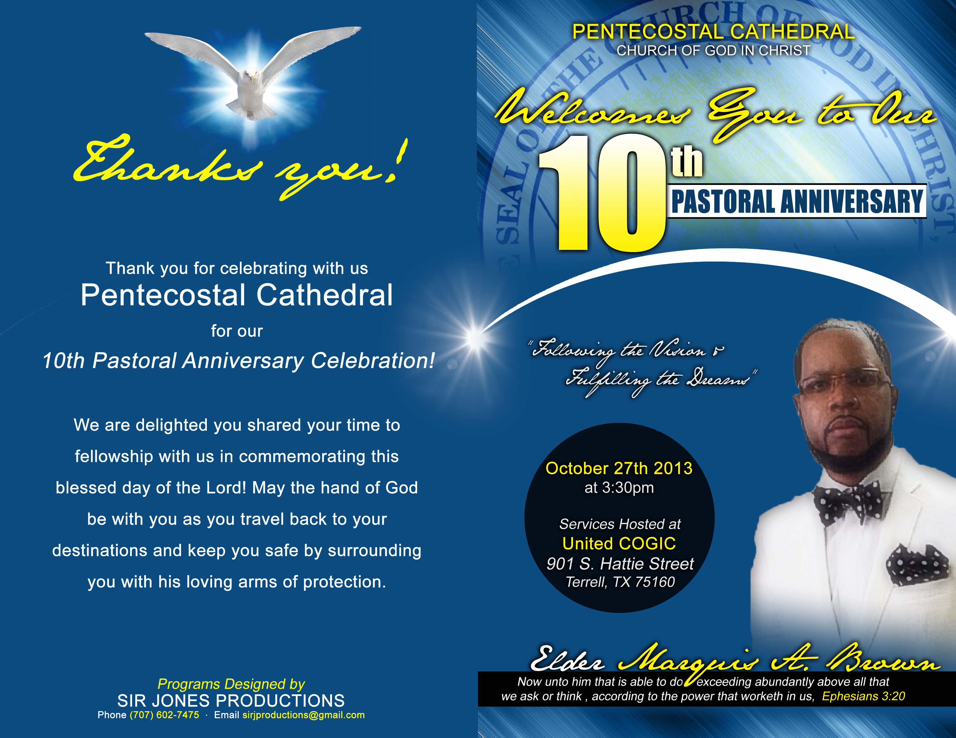 Sample Invitation For Church Anniversary was amazing invitations example